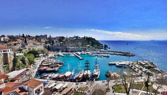 Antalya Kaleiçi Limanı