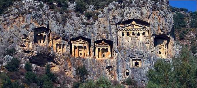 Dalyan Kral Mezarı