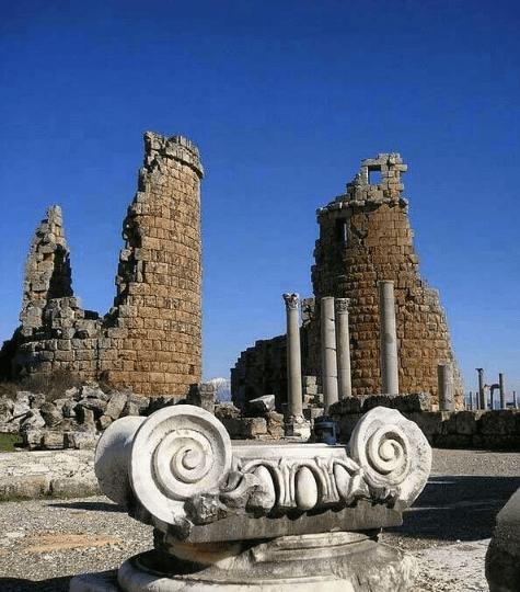 Perge antik kent