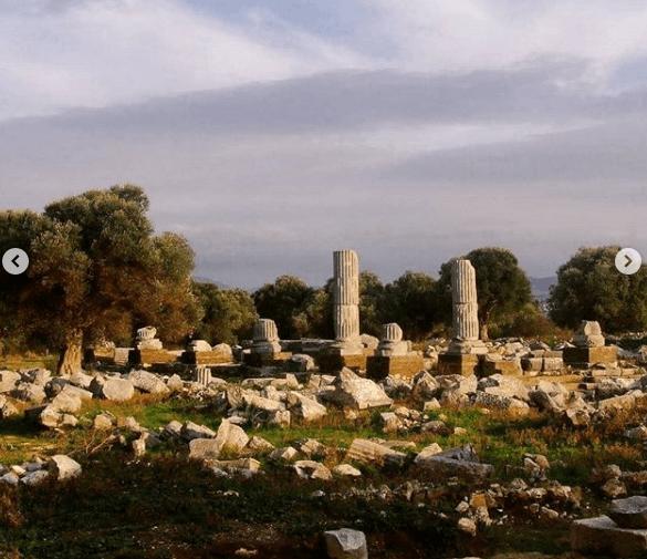 Teos Antik şehir