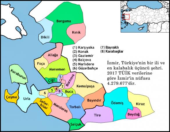 izmir haritası