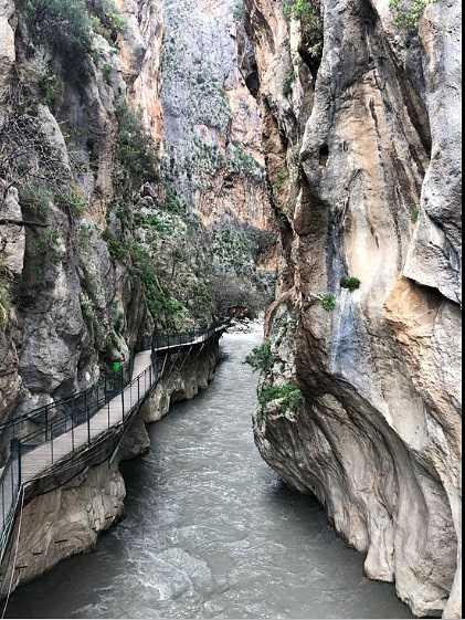 Fethiye Saklıkent Kanyonu