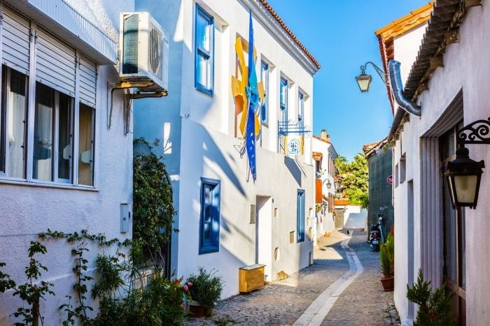 Sığacık Sokakları