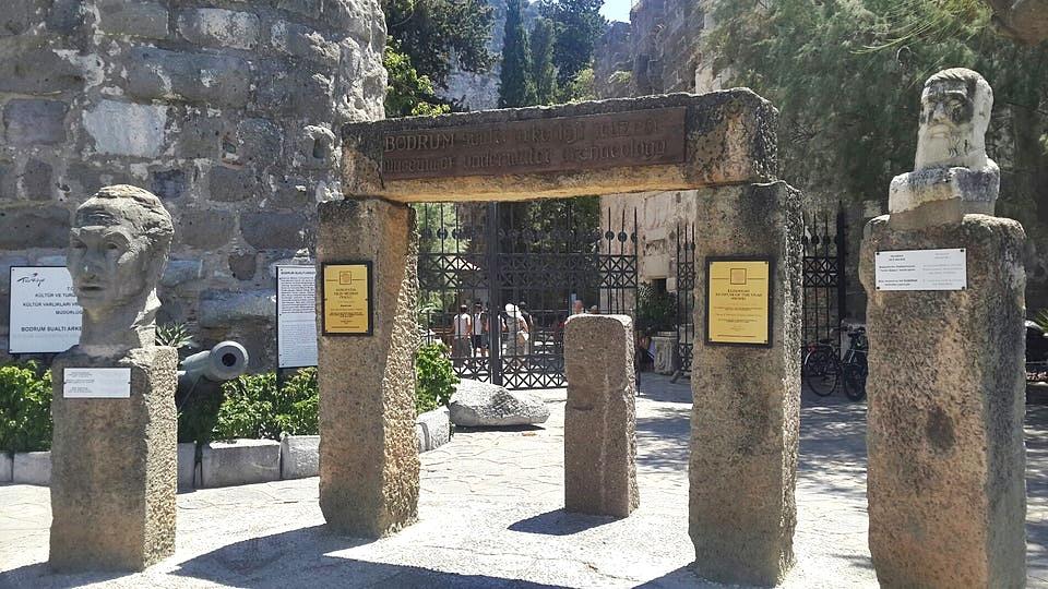 Bodrum Kalesi - Sualtı Arkeoloji Müzesi
