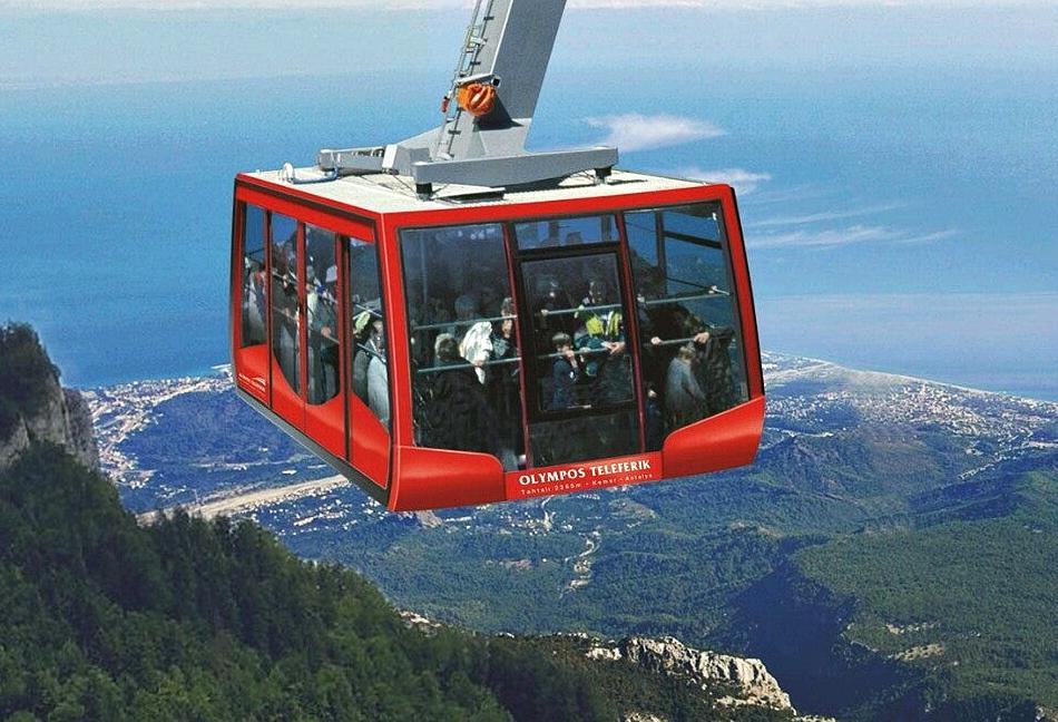 Antalya Tahtalı Dağı - Telleferik