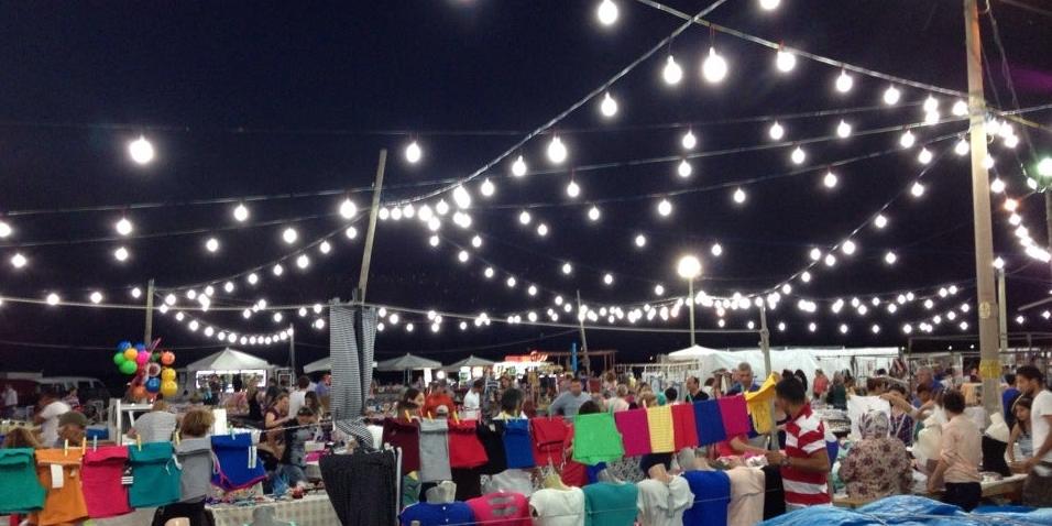 çeşmealtı gece pazarı