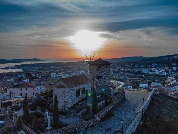 AgiosYannis Kilisesine Çıkmak