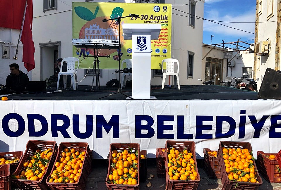 Bodrum Bitez Mandalina Festivali