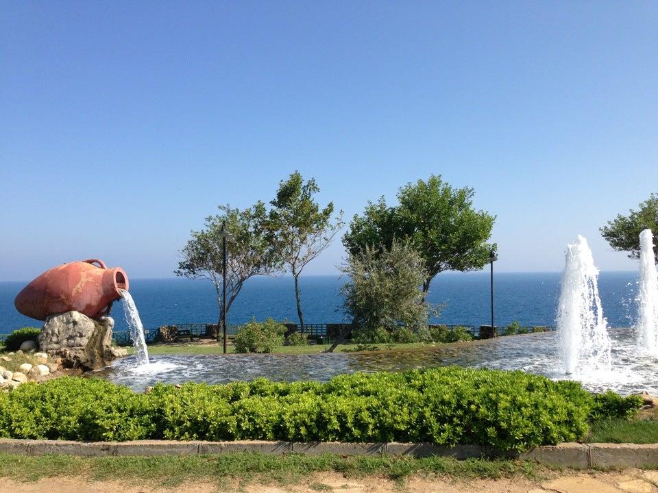 Falez Parkı Antalya