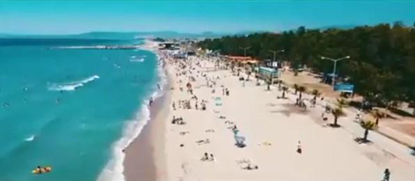 Kuşadası Sevgi Plajı Denizi
