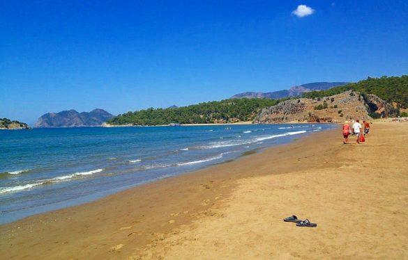 Muğla iztuzu plajı