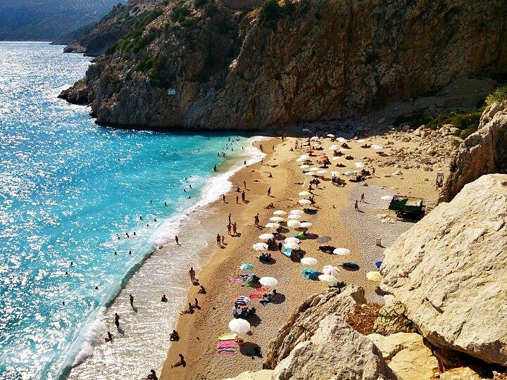 Antalya Kaputaş Plajı