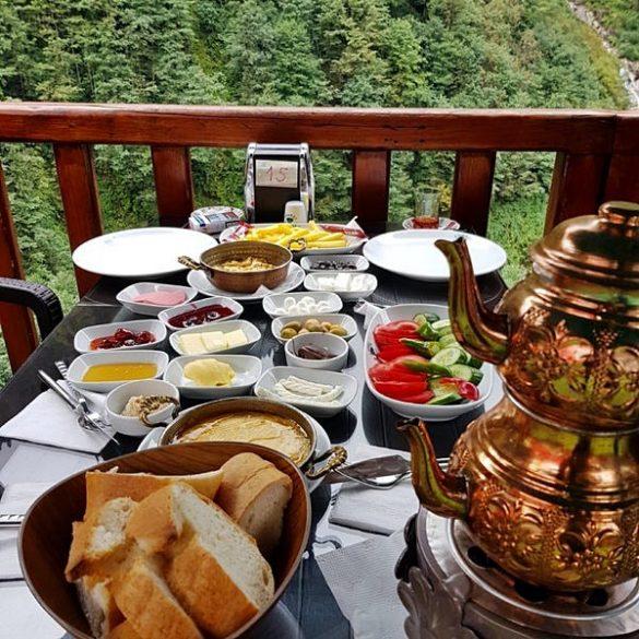 Ayder Yaylası Kahvaltı