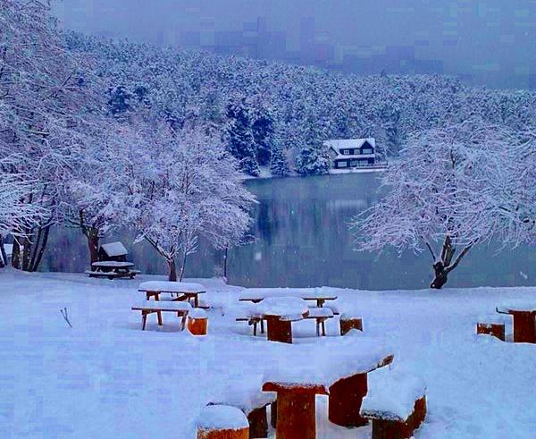 Gölcük Gölü Tabiat Parkı Kış