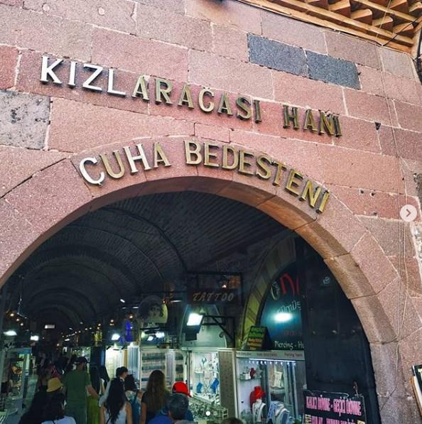 Kızlarağası Hanı İzmir