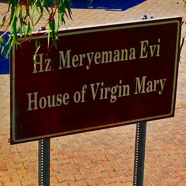 Meryem Ana evi izmir