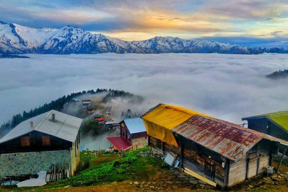Rize Pokut Yaylası Manzarası