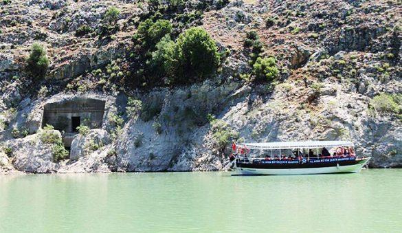 Aydın Arapapıştı Kanyonu Tekne Turu