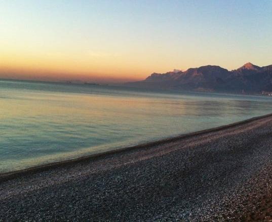 konyaaltı sahili