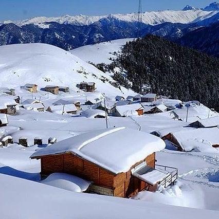 Gito Yaylası Kış Manzarası