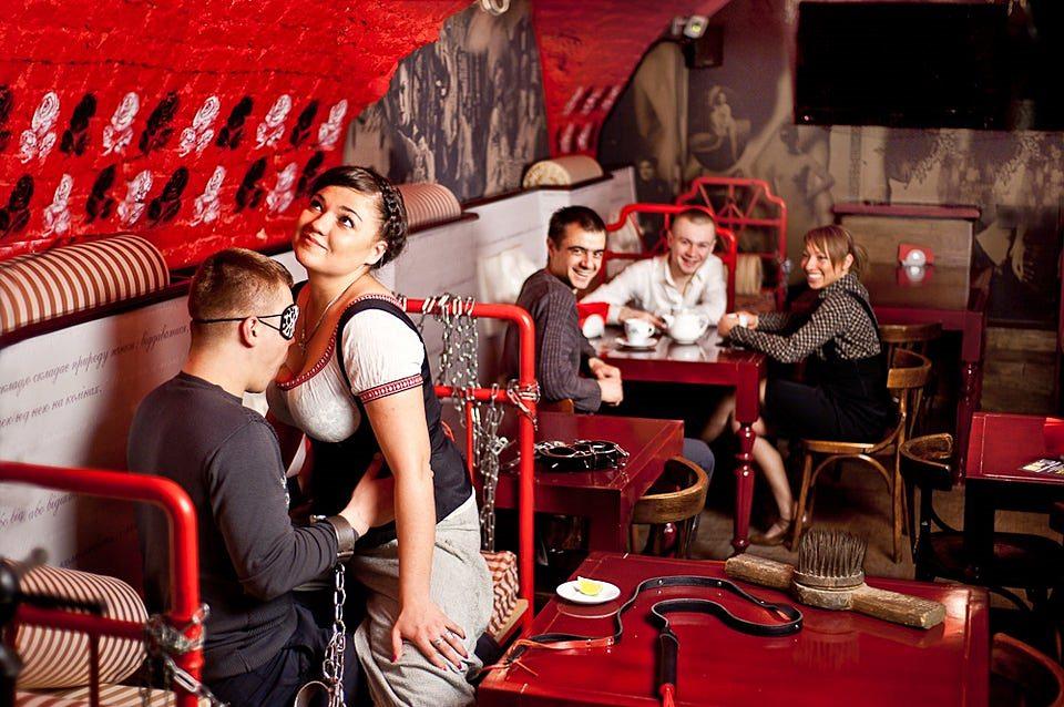 Ukrayna Gece Hayatı Masoch cafe