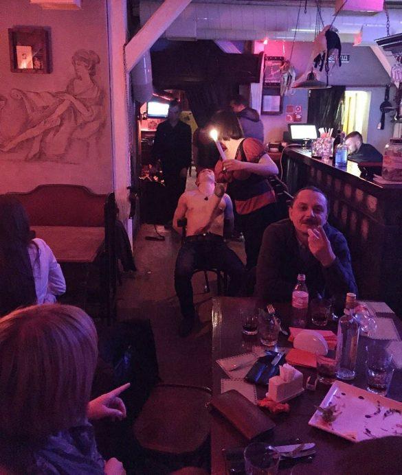 Lviv Masoch cafe disco