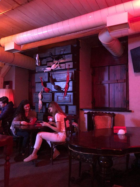 Ukrayna Lviv Fantazi Cafe