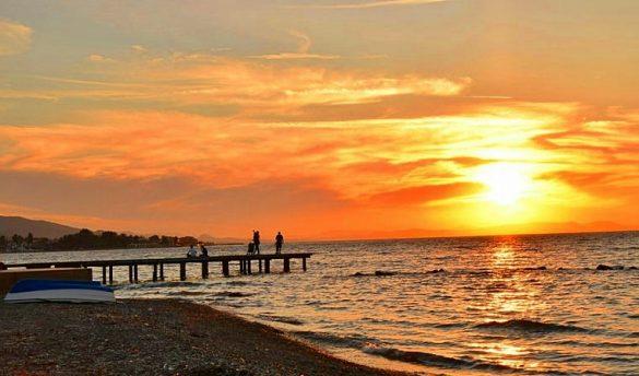 Narlıdere Sahilevleri Günbatımı
