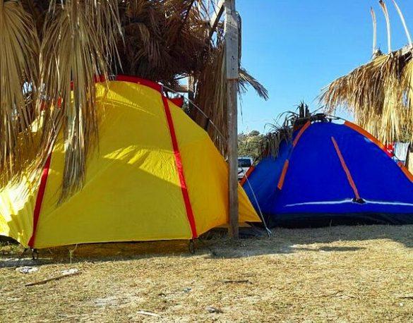 Pırlanta plajı Kalyoncu Camping
