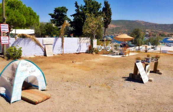 Çanak Koyu Kamp Alanı Foça