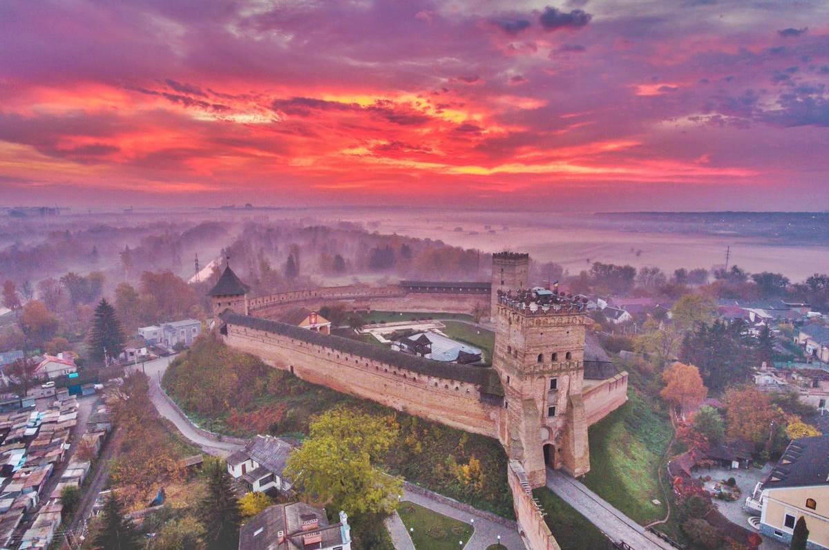 Ukrayna Lutsk Lubart'ın Kalesi