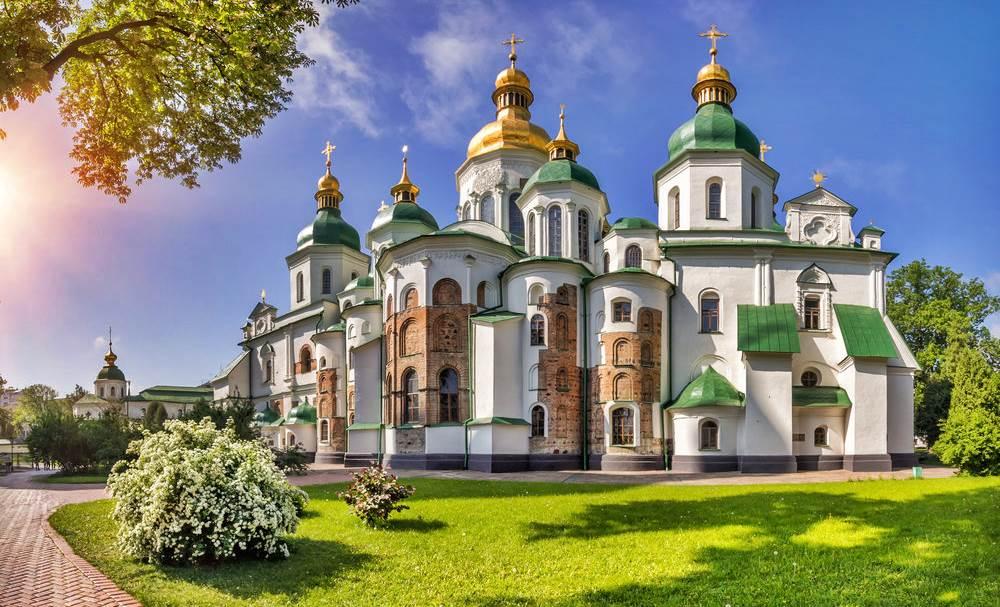 Kiev Aziz Sofya Katedrali