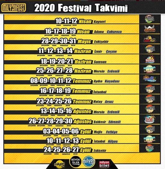 2020 Kuşadası Festivalleri