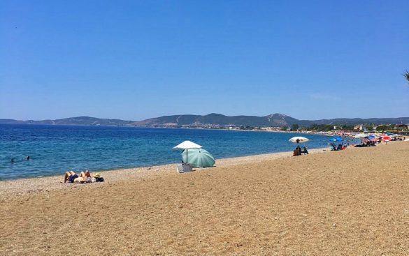 Ürkmez Akvaryum Plajı