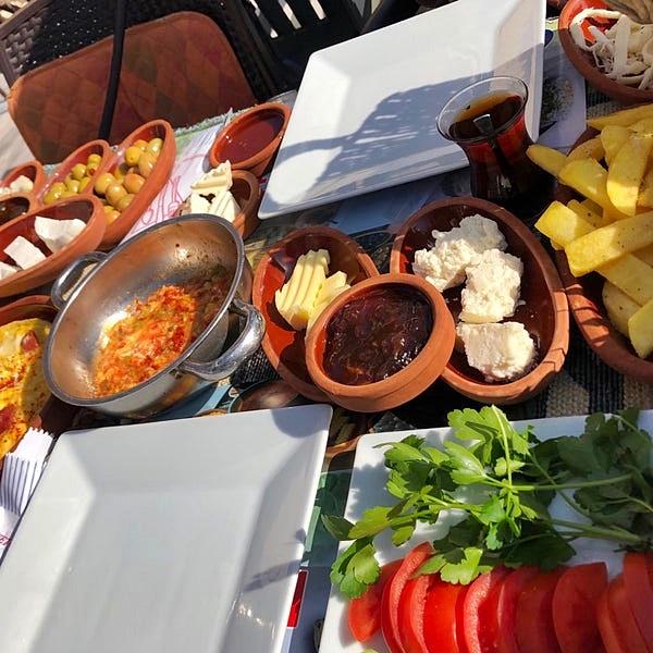 Sille Köyü Yemekleri Kahvaltı