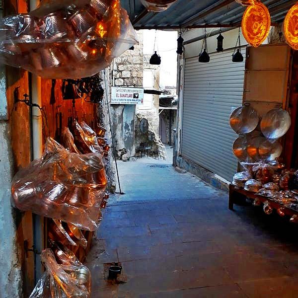 Mardin Bakırcılar Çarşısı