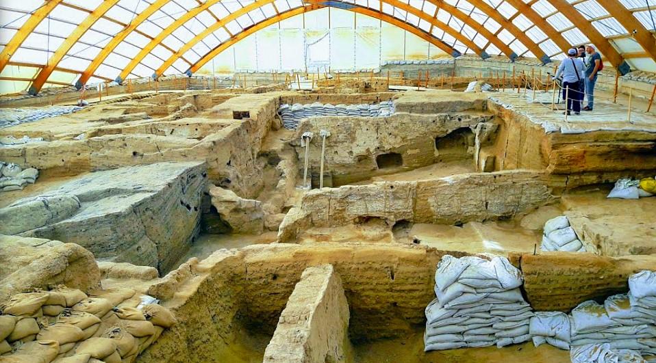 Çatalhöyük Kazı Alanı