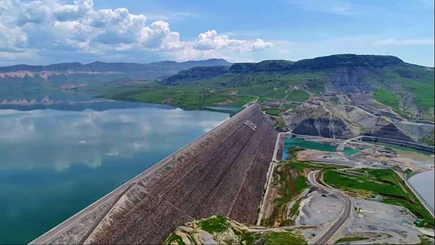 Dargeçit Ilısu Barajı