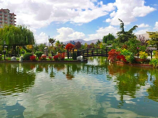 Kyoto Japon Parkı Bahçesi