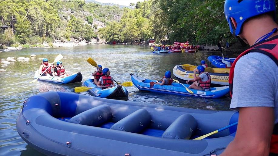 Köprülü Kanyon Rafting Tur Başlangıcı