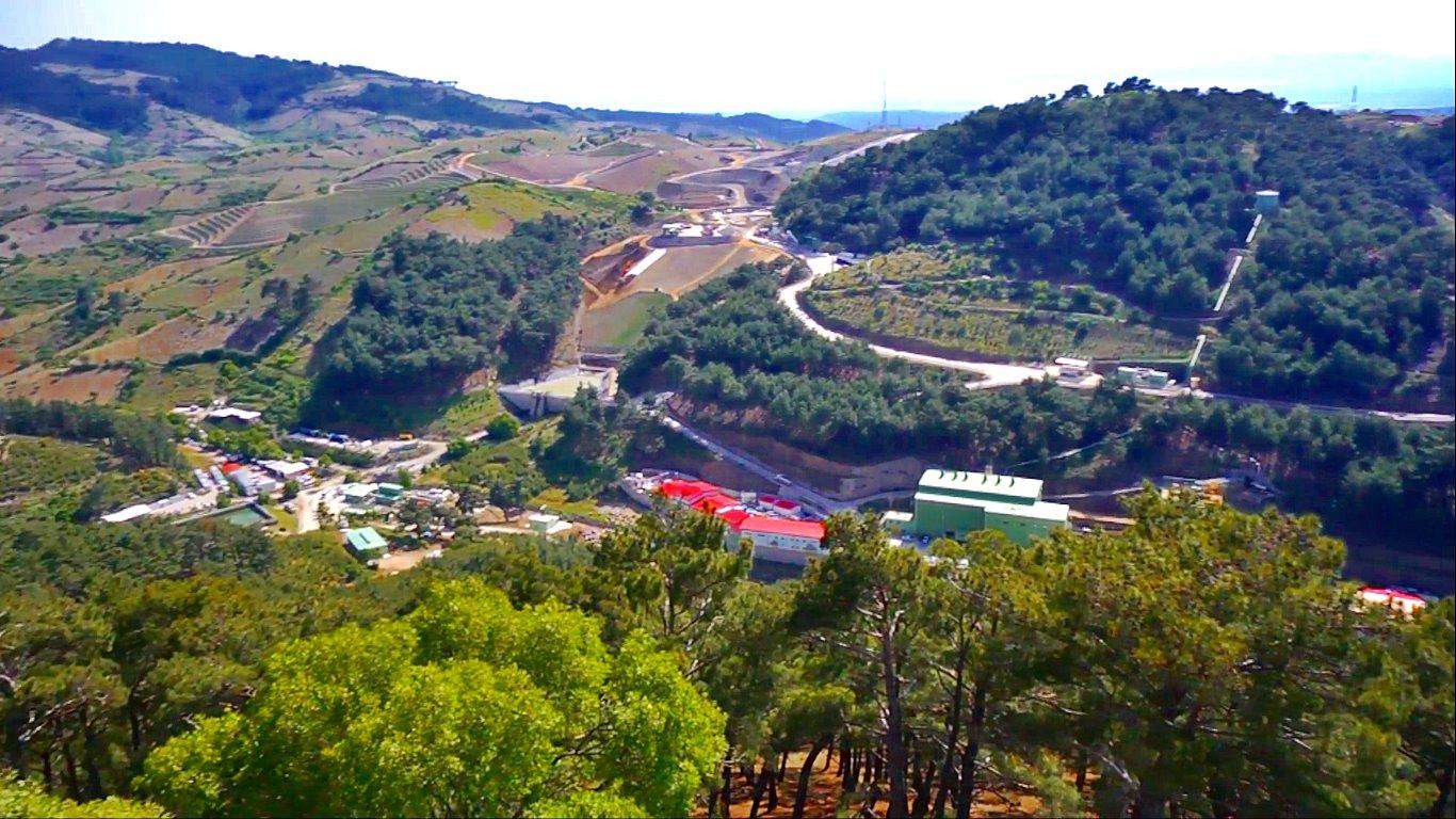 İzmir Menderes Tüprag Altın Madeni