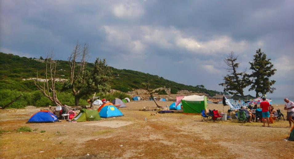 Altınköy Plajı Kamp
